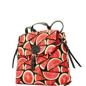 Dooney & Bourke Sandia Flap Watermelons Backpack